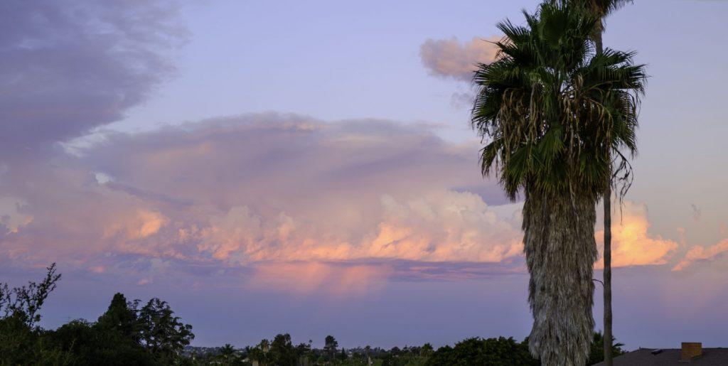 Cloud vewi sunset