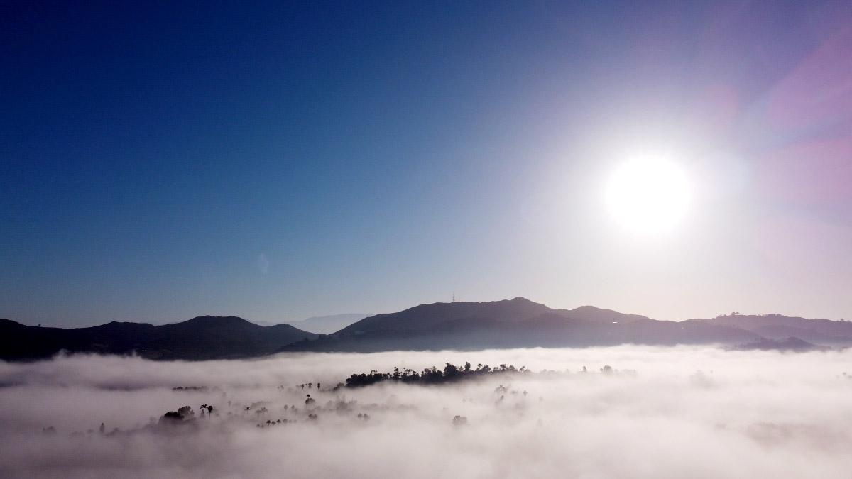 """Above the Fog"" ©2020 Eric Platt"
