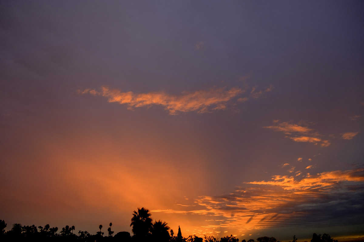"""Passionate Sunset"" ©2019 Eric Platt"