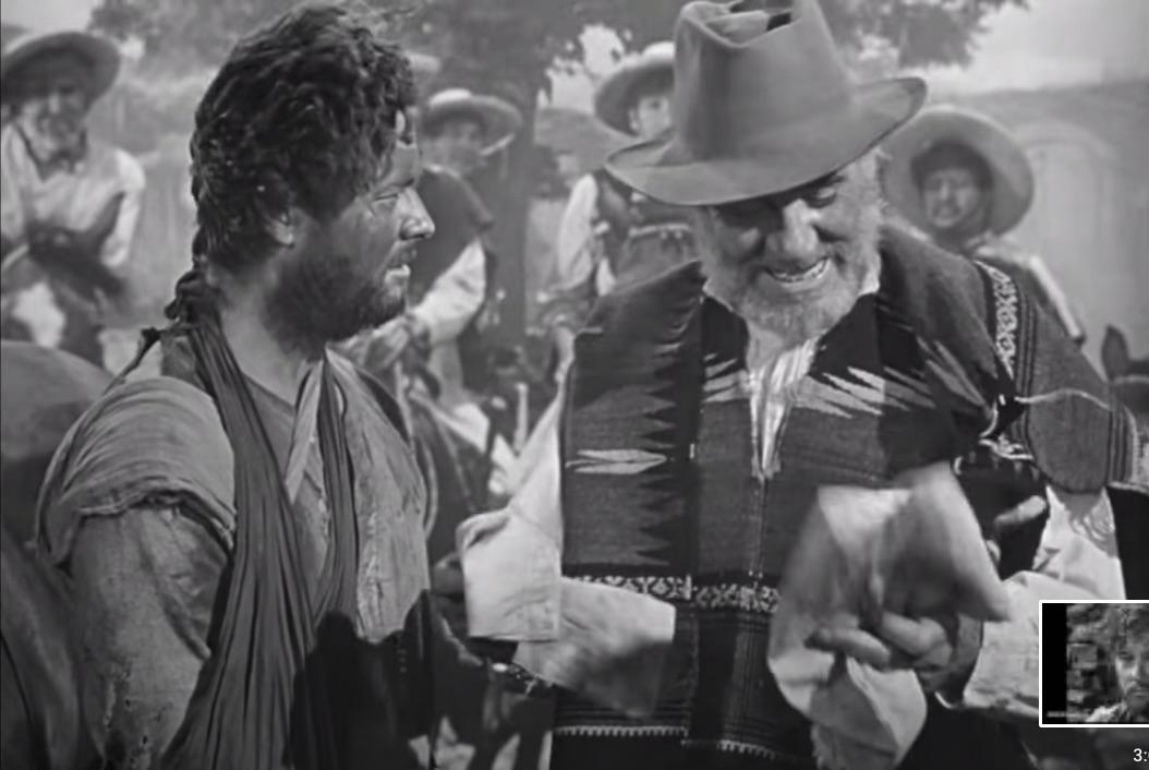 The Treasure of the Sierra Madre (1948) – final scene, a Great Joke